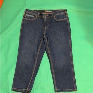 Carhartt crop jeans